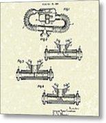 Mouthpiece 1964 Patent Art Metal Print by Prior Art Design