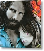 'mr Mojo Risin And Pam' Metal Print by Christian Chapman Art