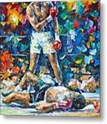 Muhammad Ali Metal Print by Leonid Afremov