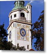 Mullersches Volksbad Munich Germany - A 19th Century Spa Metal Print by Christine Till