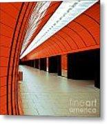 Munich Subway I Metal Print by Hannes Cmarits