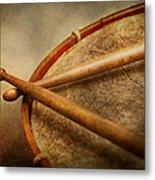 Music - Drum - Cadence  Metal Print by Mike Savad
