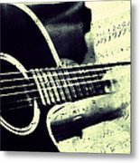 Music From The Heart II Metal Print by Jenny Rainbow