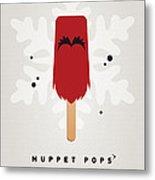My Muppet Ice Pop - Animal Metal Print by Chungkong Art