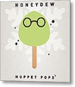My Muppet Ice Pop - Dr Bunsen Honeydew Metal Print by Chungkong Art