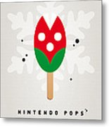 My Nintendo Ice Pop - Piranha Plant Metal Print by Chungkong Art