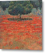 My Non-metaphysical Tree Metal Print by Valerie Douglas