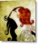 My Prince Will Come For Me 1 Metal Print by Angelina Vick