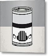 My Star Warhols Stormtrooper Minimal Can Poster Metal Print by Chungkong Art