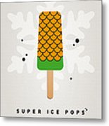 My Superhero Ice Pop - Aquaman Metal Print by Chungkong Art