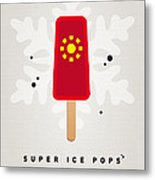 My Superhero Ice Pop - Iron Man Metal Print by Chungkong Art