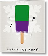 My Superhero Ice Pop - The Hulk Metal Print by Chungkong Art