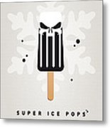 My Superhero Ice Pop - The Punisher Metal Print by Chungkong Art