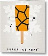 My Superhero Ice Pop - The Thing Metal Print by Chungkong Art