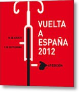 My Vuelta A Espana Minimal Poster Metal Print by Chungkong Art