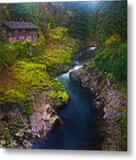 Mysteries Of The Lewis House Metal Print by Darren  White