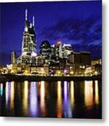 Nashville Skyline Metal Print by Lucas Foley