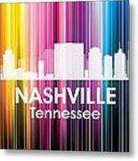 Nashville Tn 2 Metal Print by Angelina Vick