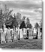 National Cemetery - Gettysburg Battlefield Metal Print by Brendan Reals