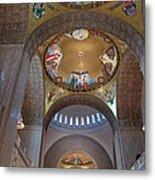 National Shrine Interior Metal Print by Barbara McDevitt