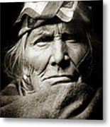 Native American Zuni -  Si Wa Wata Wa  Metal Print by The  Vault - Jennifer Rondinelli Reilly