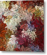 Naturaleaves - 88c02 Metal Print by Variance Collections