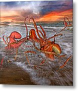 Nature Of The Game Metal Print by Betsy C Knapp