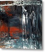 Natures Colours - Waterfall In The Sky Metal Print by Jan Lowe