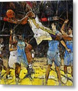 NBA Metal Print by Georgi Dimitrov