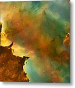 Nebula Cloud Metal Print by The  Vault - Jennifer Rondinelli Reilly