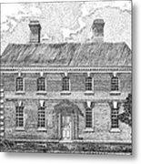 Nelson House In Yorktown Virginia II Of IIi Metal Print by Stephany Elsworth