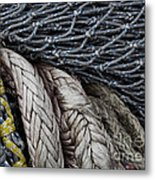 Nets And Knots Number Two Metal Print by Elena Nosyreva