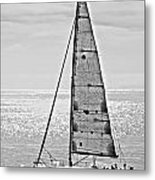 New Dawn - Sailing Into Calm Waters Metal Print by Artist and Photographer Laura Wrede