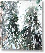 New England Landscape No.223 Metal Print by Sumiyo Toribe