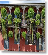 New Orleans City Jungle Metal Print by Christine Till