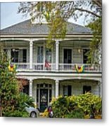 New Orleans Frat House Metal Print by Steve Harrington