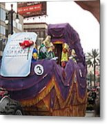 New Orleans - Mardi Gras Parades - 121228 Metal Print by DC Photographer