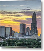 New South Summer Sunset Metal Print by Brian Young