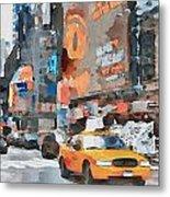 New York 6 Metal Print by Yury Malkov