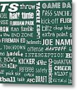 New York Jets Metal Print by Jaime Friedman