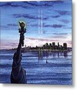 New York  Metal Print by John YATO