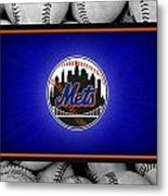 New York Mets Metal Print by Joe Hamilton