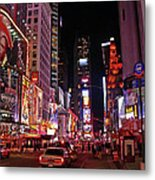 New York New York Metal Print by Angela Wright