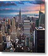 New York New York Metal Print by Inge Johnsson