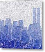New York Skyline Metal Print by Jon Neidert
