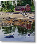 Newagen Dingy Metal Print by Karol Wyckoff