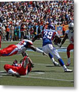 Nfl Pro Bowl Metal Print by Mountain Dreams