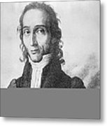 Nicholo Paganini, Italian Violinist Metal Print by Science Photo Library