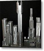 Night City 2020 Metal Print by April Davis