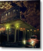 Night Fill Metal Print by Nathan Wright